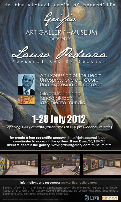 Mostra virtuale online di Lauro Pedraza