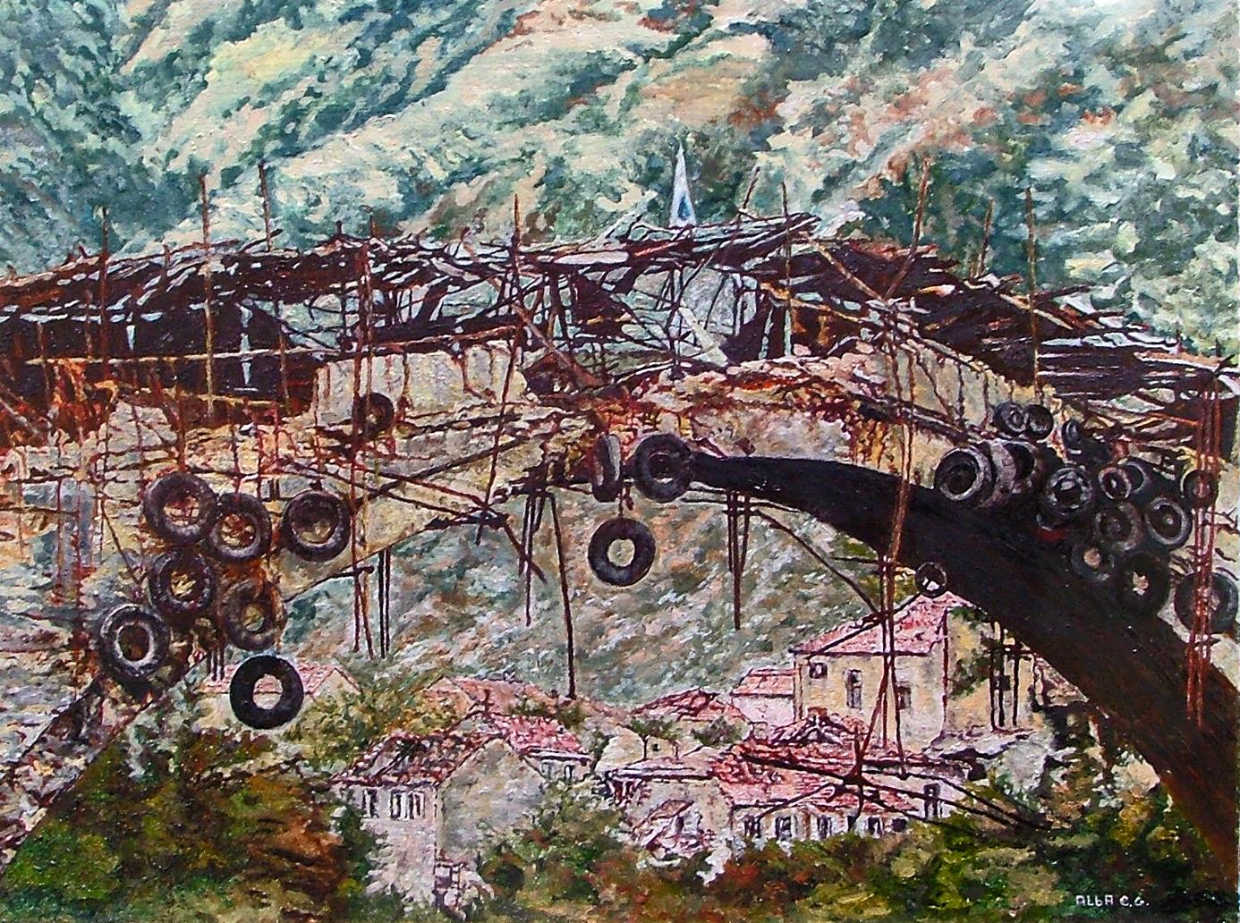 Ponte di mostar alba chiodi opera celeste network for Disegni di ponte anteriore