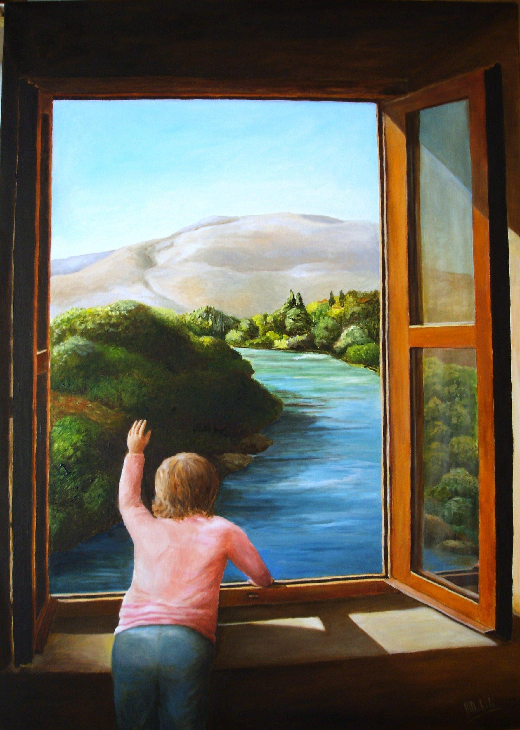 La finestra sul fiume maria nobili opera celeste network - La finestra di fronte andrea guerra ...