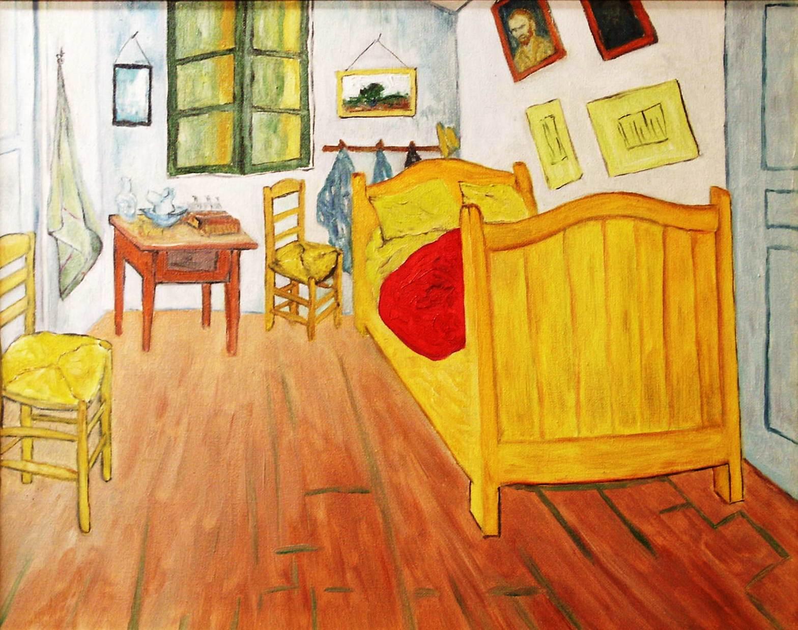 Camera da letto ad arles van gogh maurizio amorosi opera celeste network - La camera da letto van gogh ...