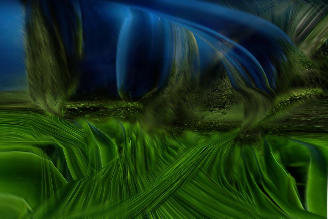 Con il verde e il blu dipingo un nuovo mondo pulito for Il verde mondo