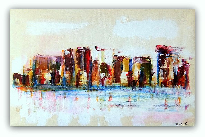 Quadri astratti moderni sanader art dipinti a mano for Quadri moderni dipinti su tela