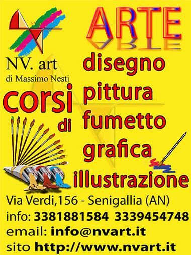 Corsi di disegno pittura grafica 2d illustrazione e for Corsi di grafica pubblicitaria
