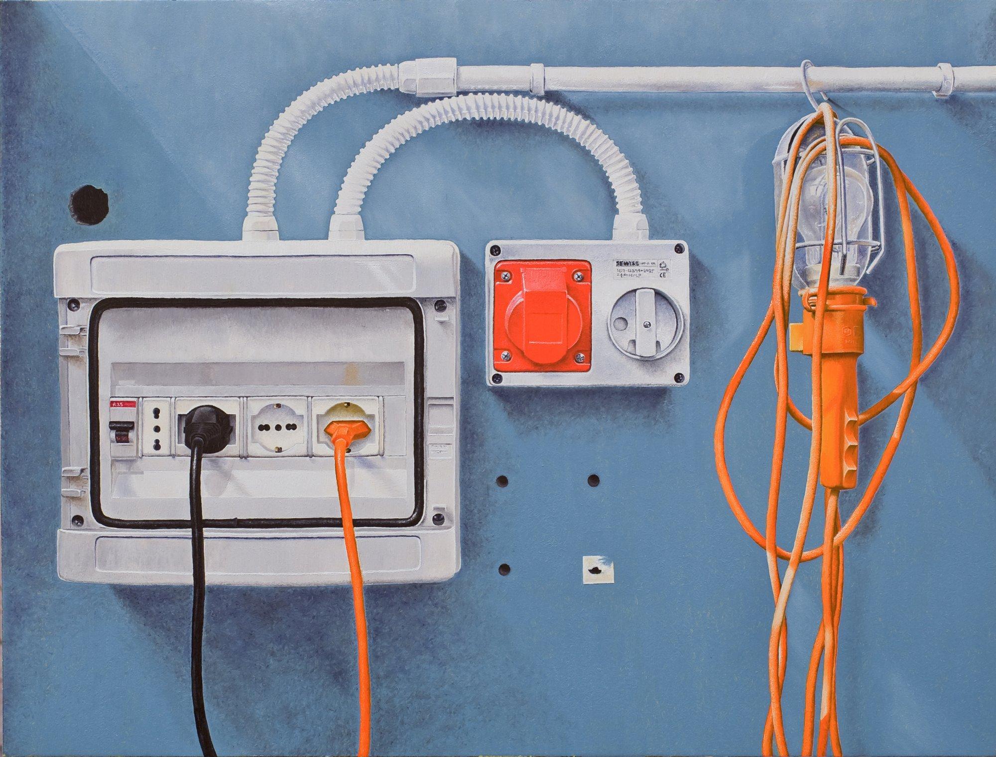 L 39 impianto elettrico simone giaiacopi opera celeste for Impianto esterno elettrico
