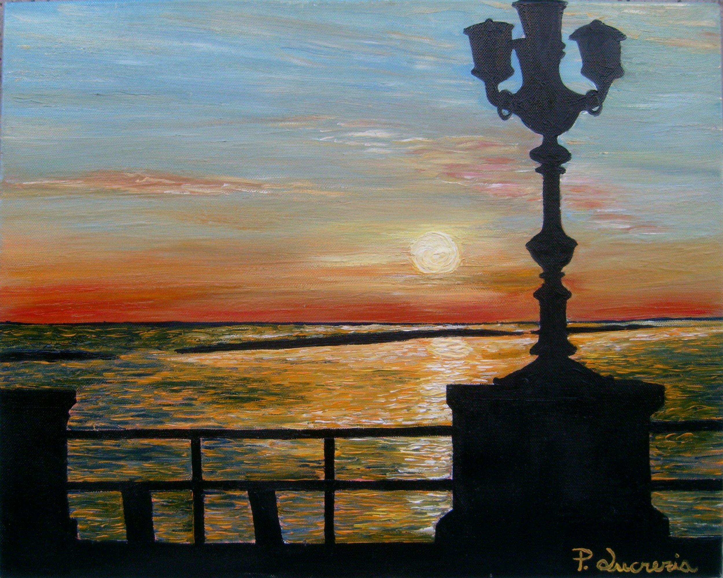 bari lungomare tramonto az - photo#34