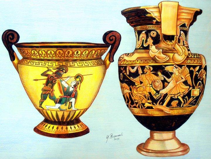 Vasi greci giovanni bernardi opera celeste network for Vasi antichi