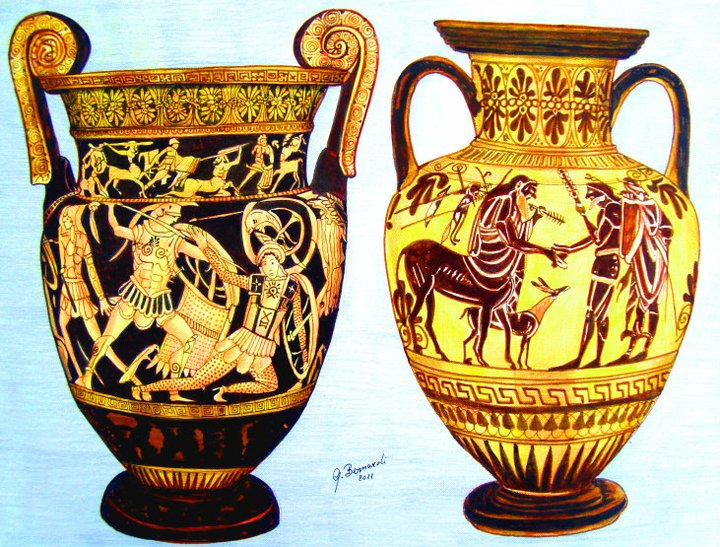 Vaso greco e etrusco giovanni bernardi opera celeste for Vasi antica grecia