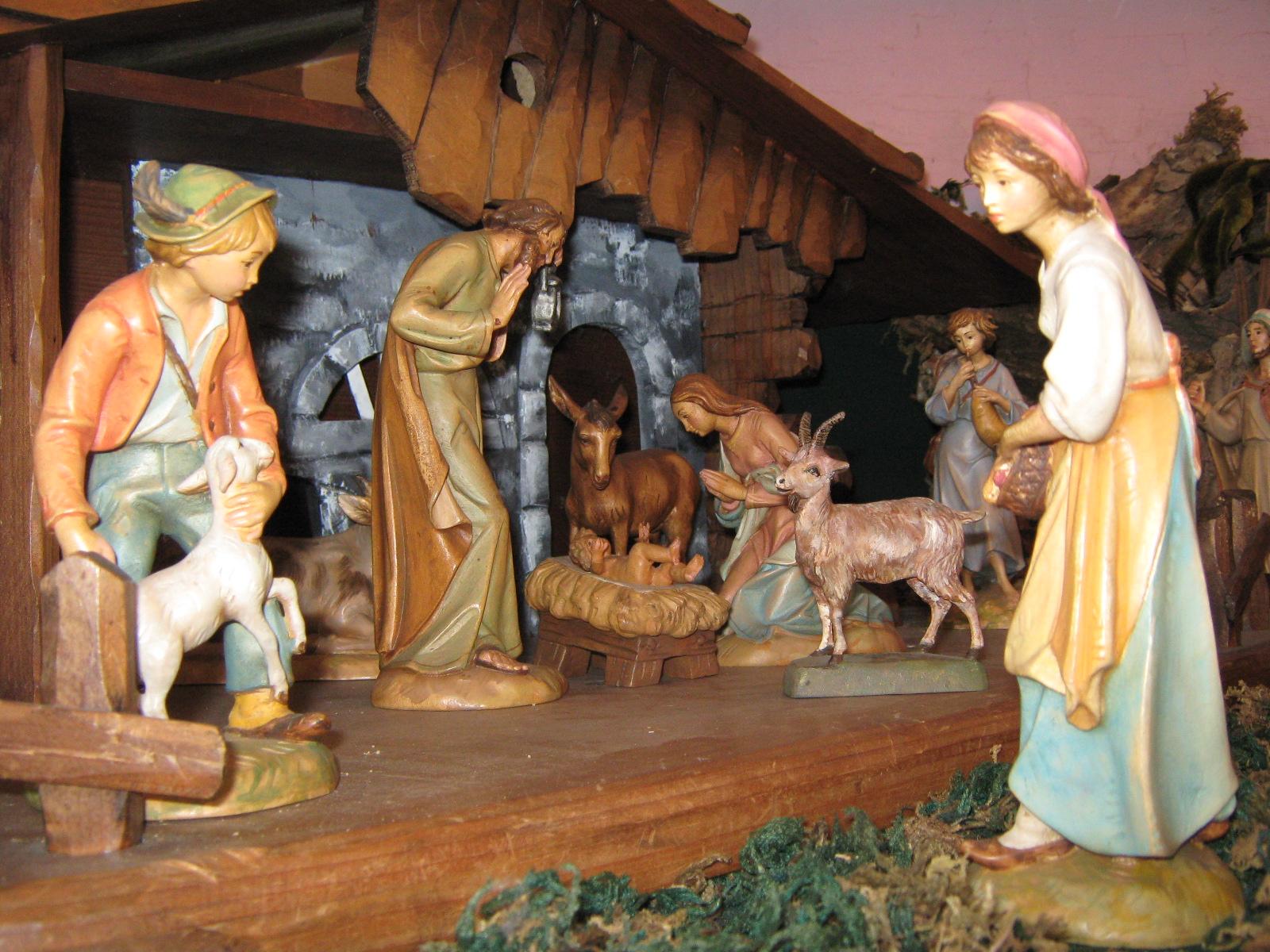Buon Santo Natale.Buon Santo Natale Il Presepe Giuseppe Caspani Opera