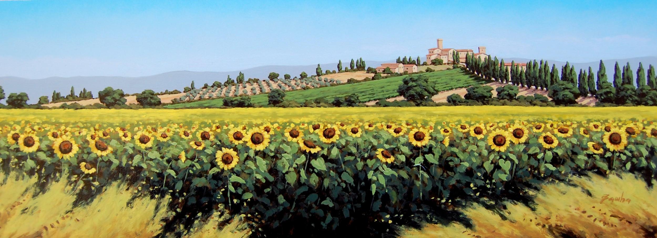 Girasoli in Toscana n. 6 - Bamba - Opera Celeste Network