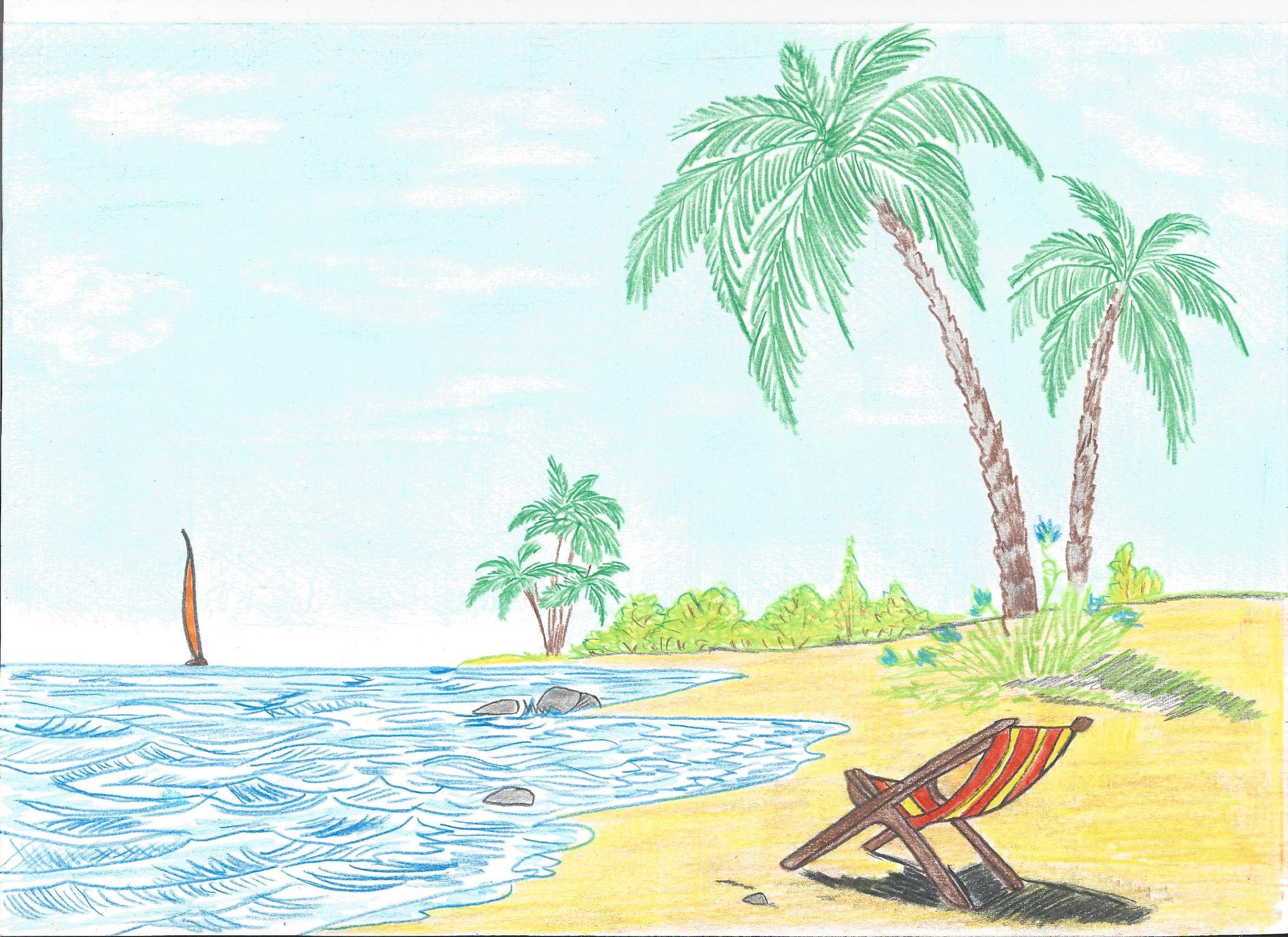 Paesaggio marino tanya bartolini opera celeste network for Paesaggi facili da disegnare