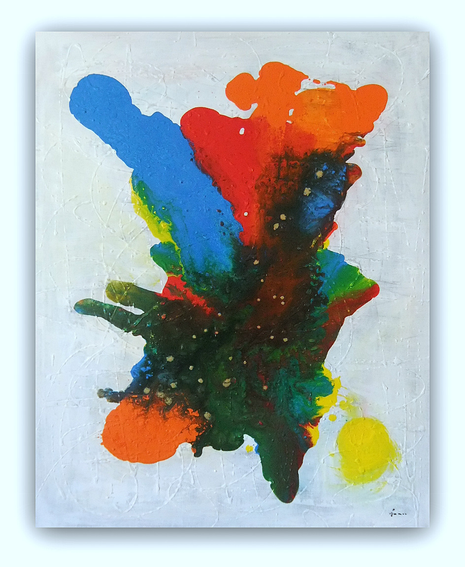 Quadro astratto moderno sanader art pittura astratta for Quadri arte moderna astratti