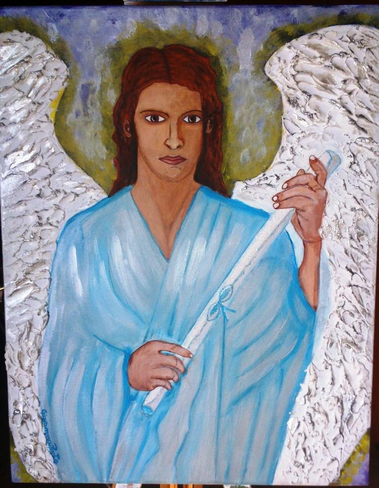 Favoloso Arcangelo Gabriele - Giovanna - Artista degli Angeli - Opera  XM77