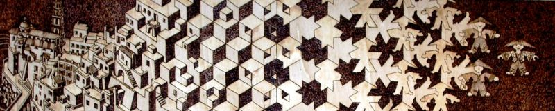Metamorfosi l 39 uomo e la citta 39 tributo a maurits cornelis for Escher metamorfosi
