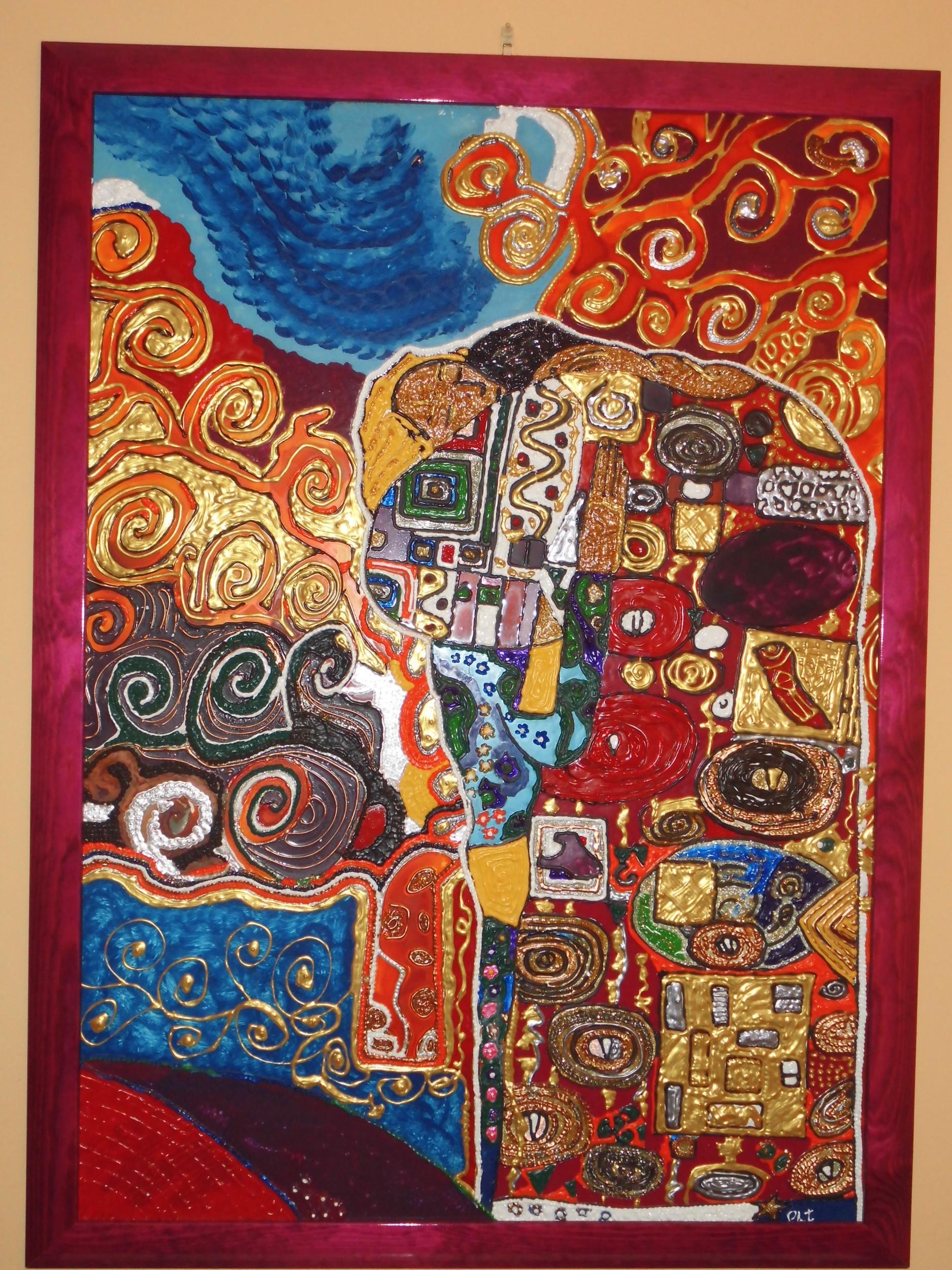 Gustav Klimt L Abbraccio Images