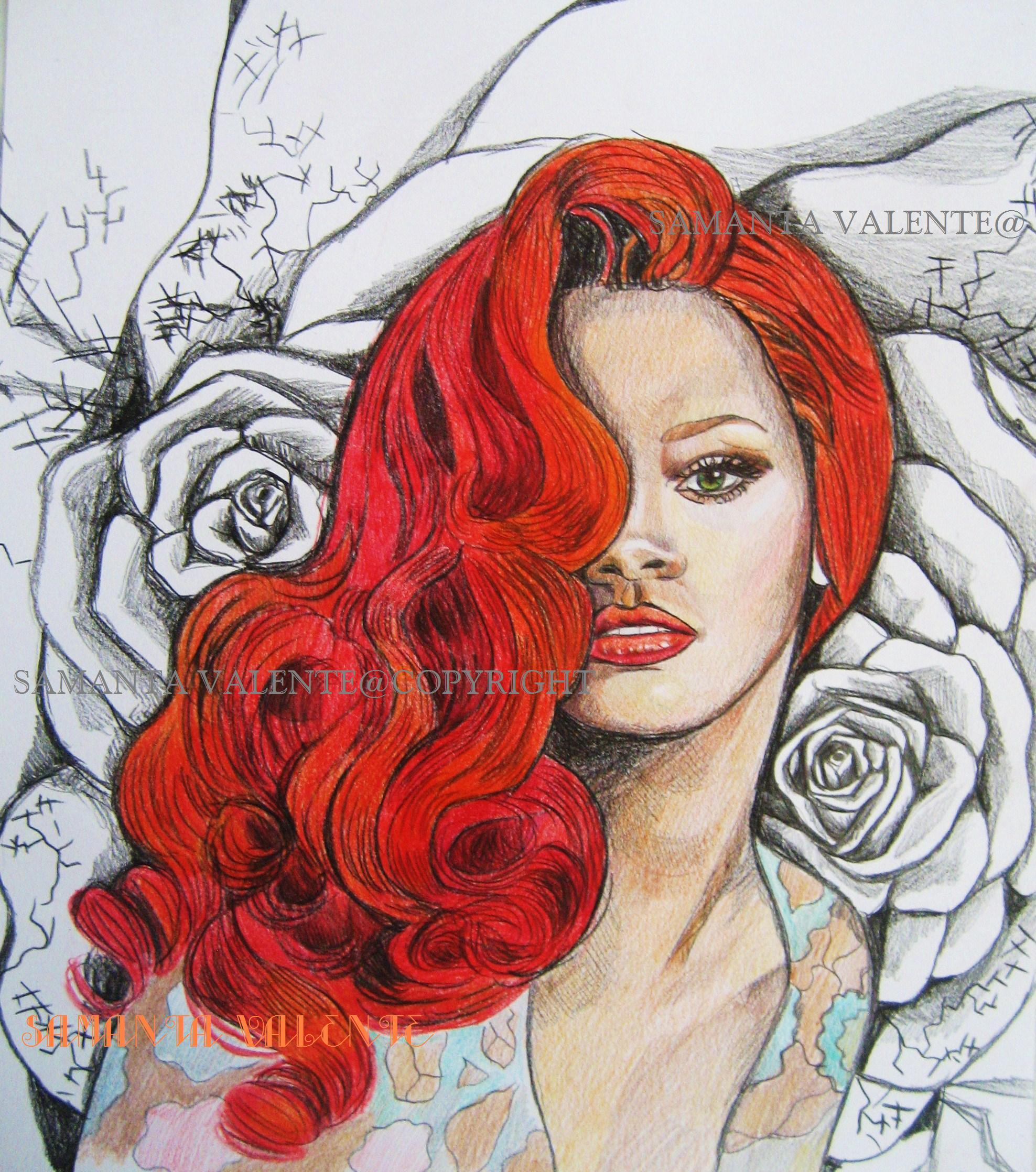 Rihannafrom The Series Celebrity Samanta Valente Opera