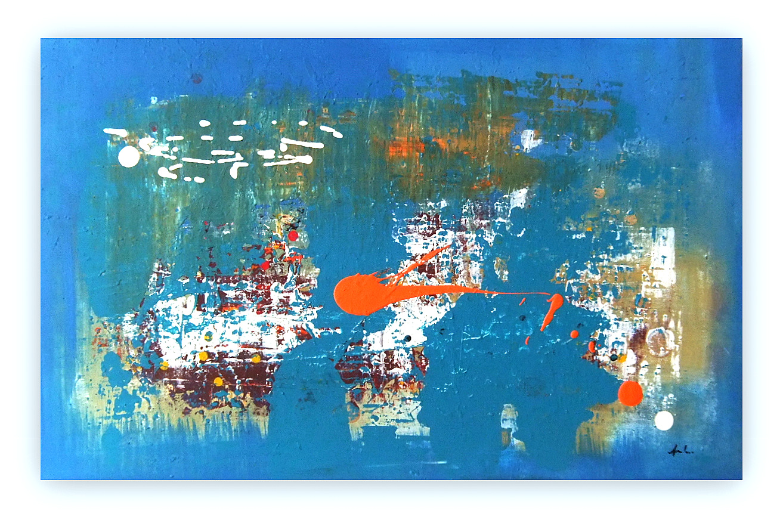 Quadri astratti moderni sanader art pittura astratta for Tele quadri
