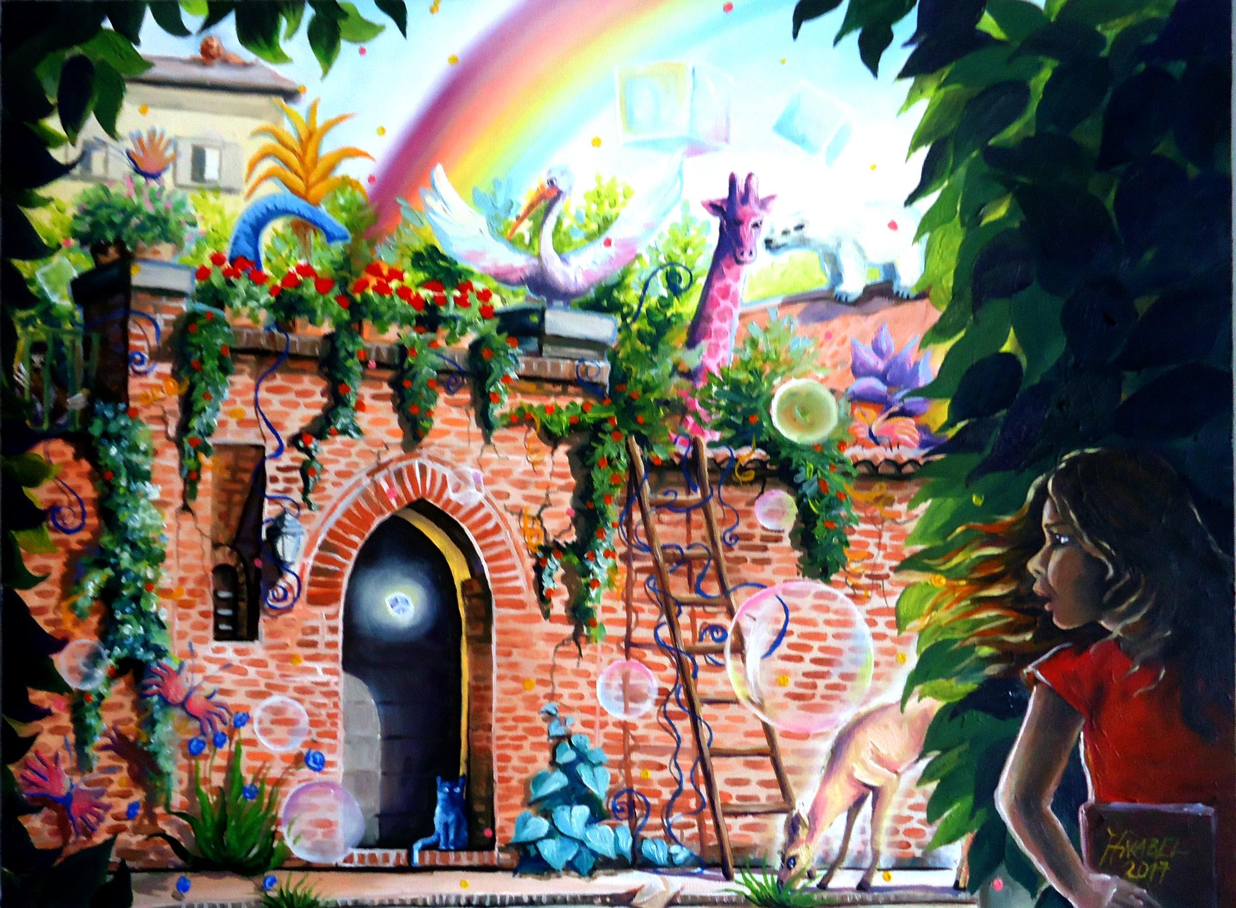 Il giardino delle meraviglie maria anabel rauber opera celeste network - Il giardino delle meraviglie ...