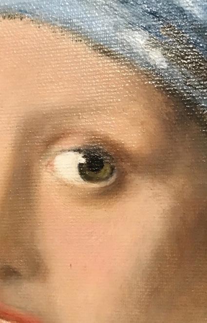 Studi di volto (dettaglio a colori