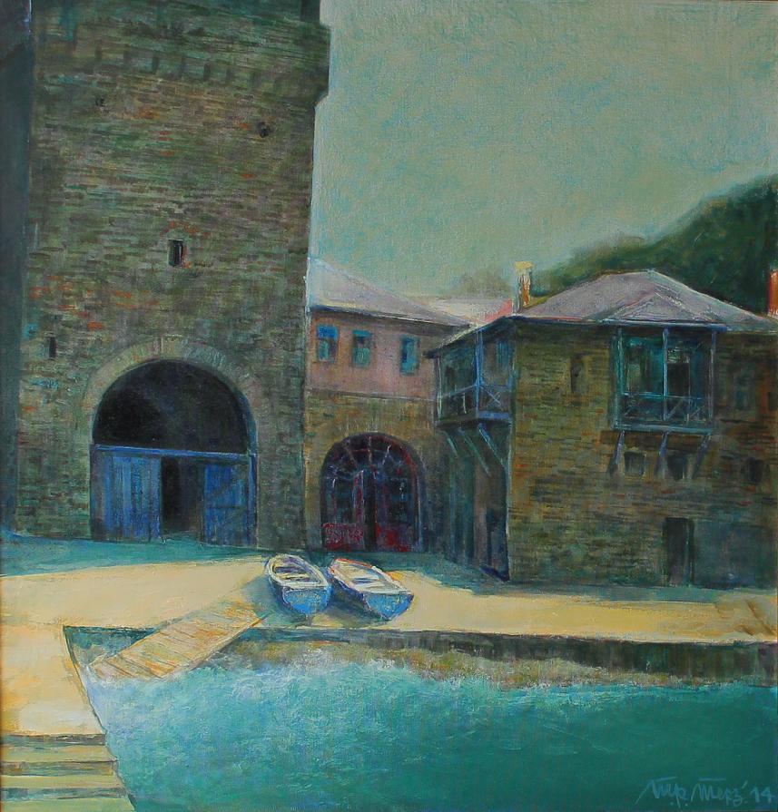 "Port of the monastery ""Iveron"""