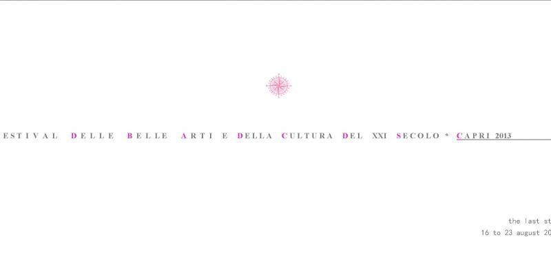 Capri. Festival of Contemporary Arts and the Culture of the XXI Century