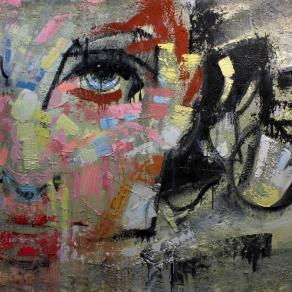 Fabio Modica | Gnosis: Liberation - mixed media on canvas - 71x59 inches - 2015 | Private Collection - Malibù - USA