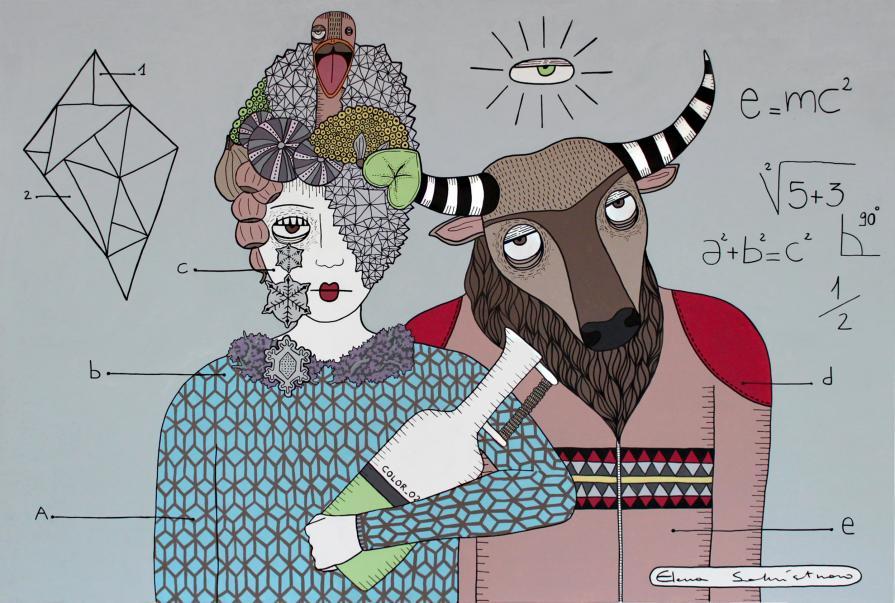 La visionaria e il minotauro