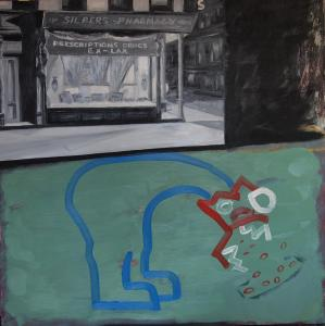 """Frank Moore - Familiarity Breeds Contempt (Title Image """"The Apothecaries"""")"""