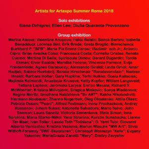 Artexpo Summer Rome 2018